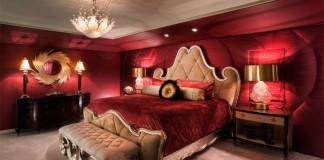 Marsala Rengi Yatak Odası Dekorasyonları 2015
