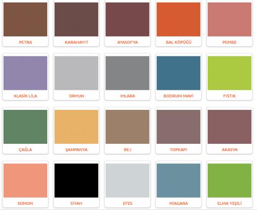Marshall renk modelleri — Resimli Yemek Tarifleri