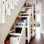 merdiven altı çekmeceli dolap