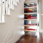 Merdiven Altı İçin Ahşap Dolap Modeli ‹ DekoromoDekoromo
