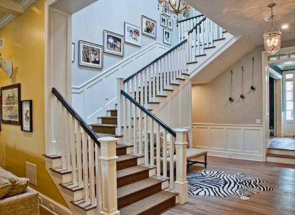 Merdiven dekorasyonu Stairs decoration (4)