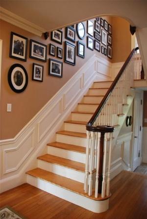 Merdiven dekorasyonu Stairs decoration (9)