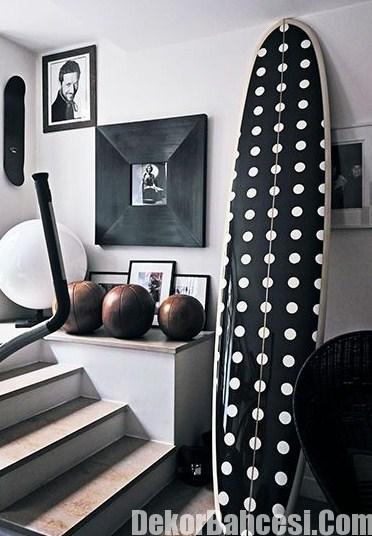 modern puantiyeli ev dekorasyon modelleri 2015
