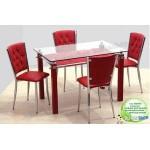 Mutfak Masasi Cam Masa+4 Sandalye GittiGidiyor'da 181258551