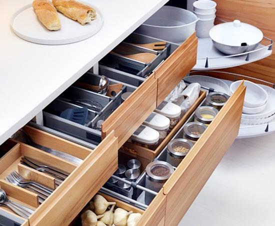 Mutfaklar İçin Kullanışlı Mutfak Dolapları