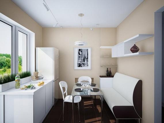 Mutfaklarda yemek bölümü tasarım öneri ve fikirleri