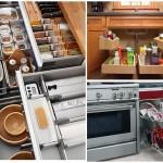 Mutfakta Dolap İçi Düzenleyicileri