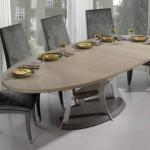 oval yemek masası modelleri