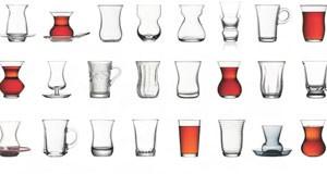 Paşabahçe Çay Bardağı Modelleri Bir Arada
