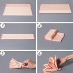 Peçete Katlama Teknikleri peçete (5) – Moda ve Dekorasyon