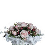 Pembe Beyaz Yapay Çiçek,pembe yapay çiçek, beyaz yapay çiçek