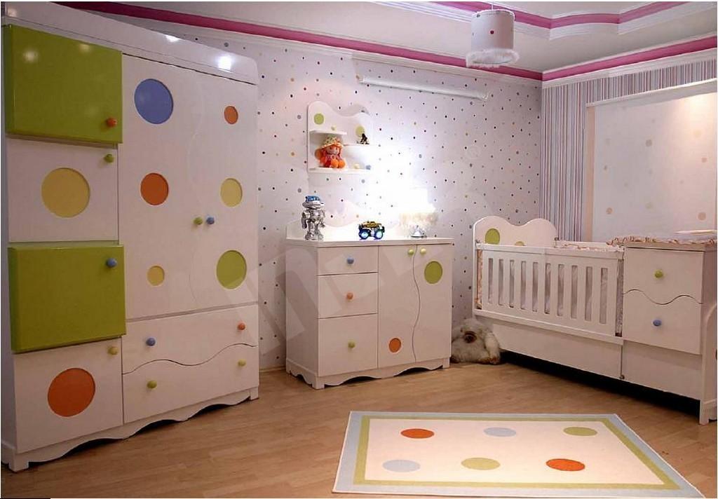 Renkli Bebek Odası Takımları gt; İnter Mobilya