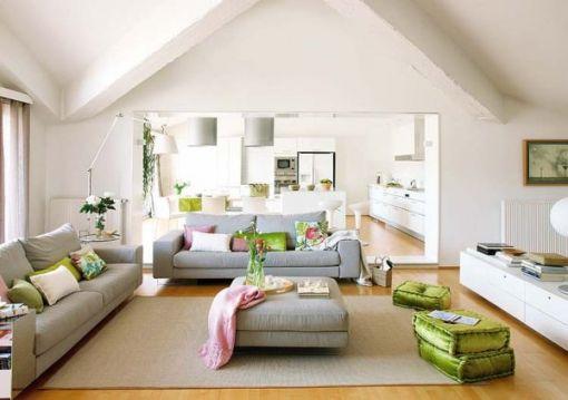 Renkli Detaylarla Ev Tasarımı