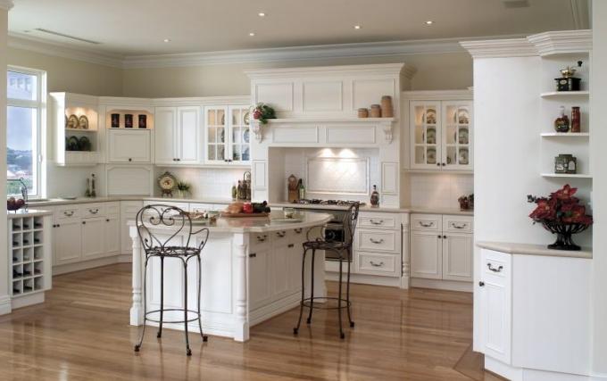 Rustik mutfak modelleri