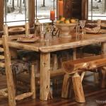 Rustik Yemek Odaları