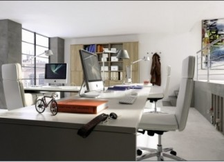 Sade Ofis Dekorasyonu