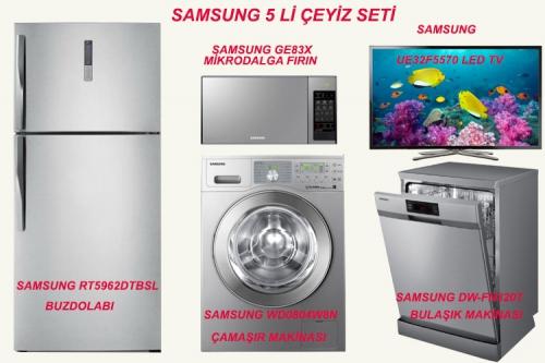Samsung Çeyiz Seti Kampanyaları ve Fiyatları