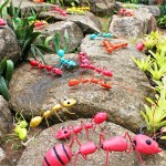 Sentetik dev karıncalar nong nooch tropikal Bahçe Pattaya