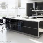 Siyah Ankastre Mutfak