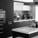 Siyah Ankastre Mutfak Modelleri 2015