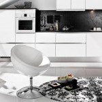Siyah Beyaz Mutfak Dekorasyonu