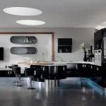Siyah Beyaz Mutfak Dekorasyonu Fikirleri › En Son Dekorasyon