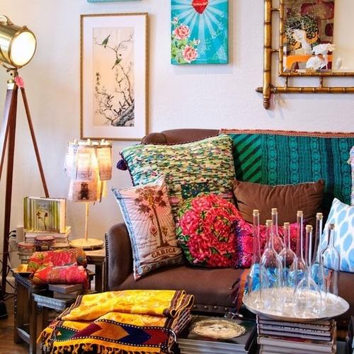 Son dönemlerin modası kafe tarzı ev dekorasyonları