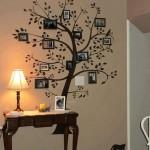 Soy Ağacı ile Duvar Dekorasyonu