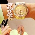 Taşlı Kadın/Bayan Kol saati Modelleri 2014