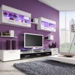 Televizyon Arkası Duvar Kağıtları Modelleri