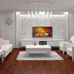 Televizyon Için Duvar Dekorasyonu › Modelleri Fiyatları 2015