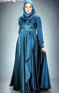 tesettür abiye elbise 2016