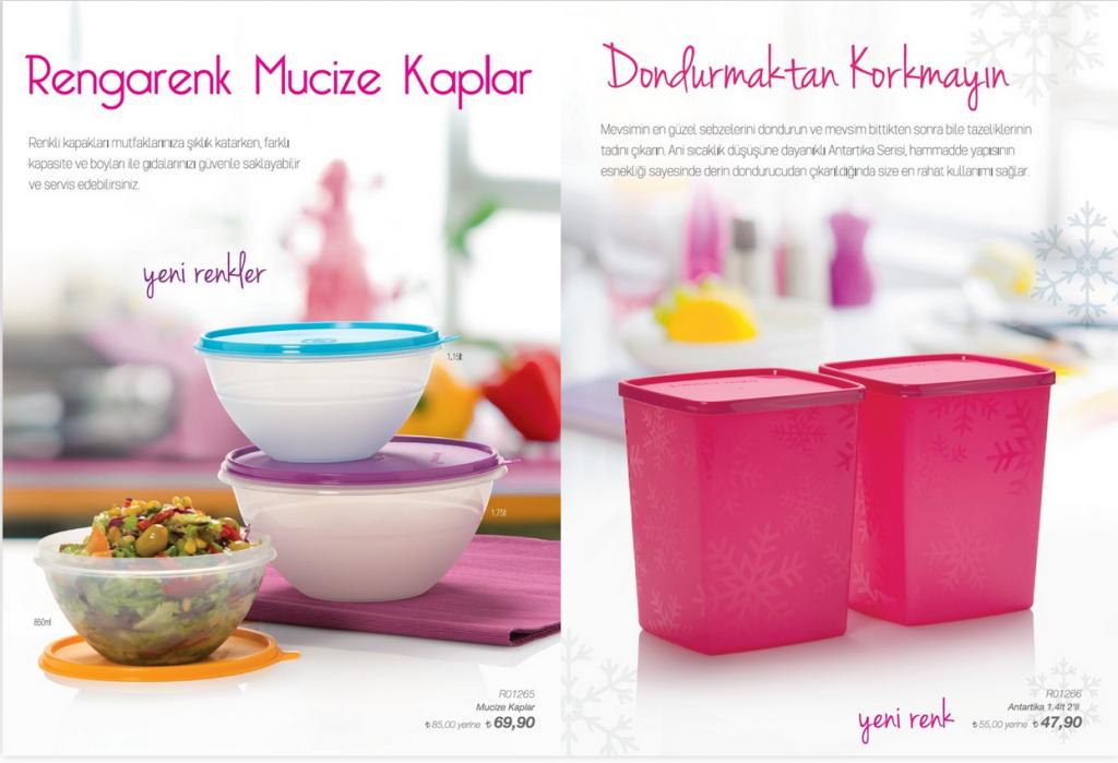 Tupperware 4.Hafta İndirim Ürünleri 2015
