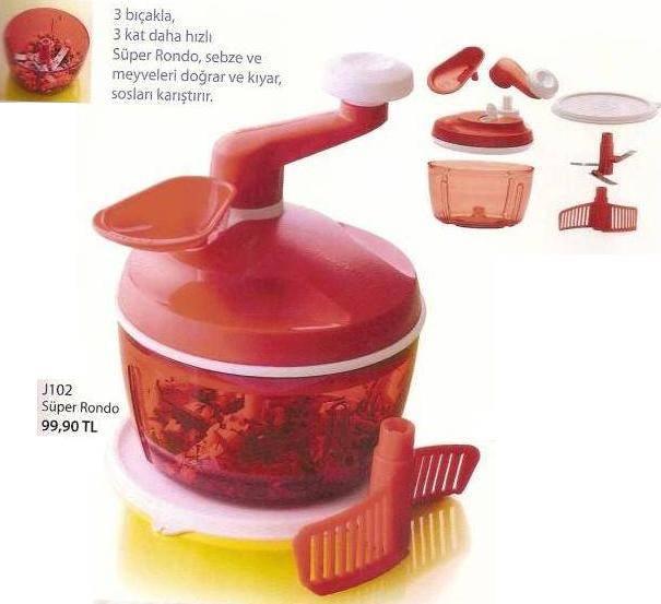 TUPPERWARE piyasadaki en kaliteli mutfak malzemeleri yanı