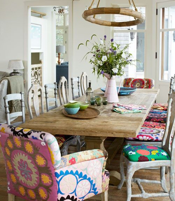 Yemek odasına sandalye alternatifleri
