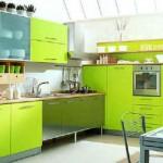 Yeşil Renk Mutfaklar