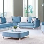 2015 Mavi Beyaz Oturma Odası Modelleri, 2015 oturma odası