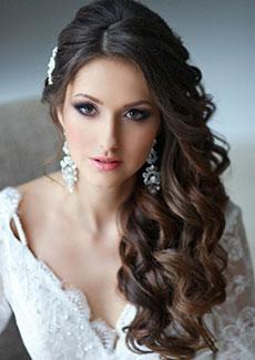 2016 Gelin Saçı Modelleri ve Makyaj Örnekleri