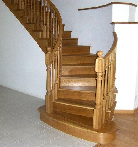 Ahşap İç Merdiven