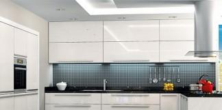 Akrilik mutfak modelleri