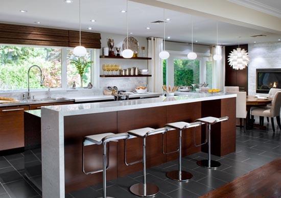 Amerikan Mutfak Dekorasyonu Nasıl Yapılır? » Mutfak