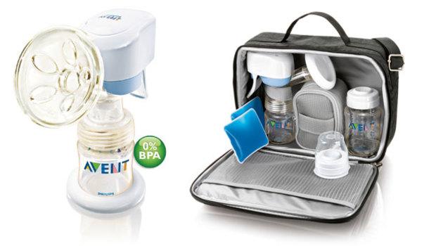 Avent'ten elektronik süt pompası