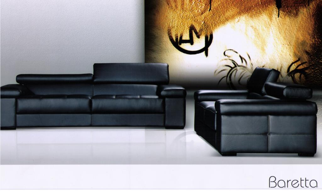 Baretta deri koltuk takimi modeline ait detay sayfası