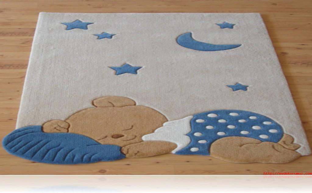 Bebek odası halı modelleri