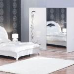 Beyaz Yatak Odası Takım Modelleri 2015