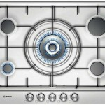 Bosch PCQ715B80E Ankastre Ocak, Çelik, 70 cm, Wok Gözlü