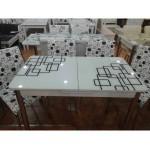 Cam Mutfak Masası