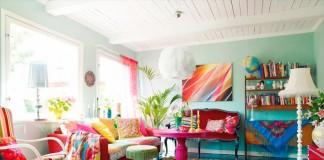 Canlı ve Renkli Ev Dekorasyonu
