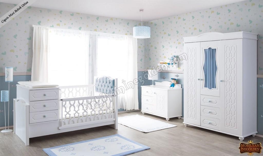 Capris Mavi Bebek Odası