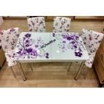 Çiçekli Mutfak Masaları